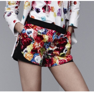 Shorts in Floral Crush print