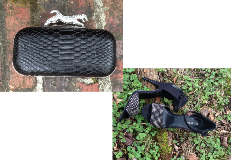 Campomaggiore clutch - Aldo; Jeannetta High Heel Sandal - Call It Spring