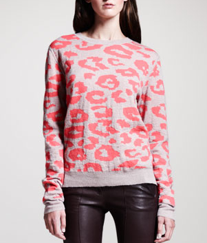 ALC Grimal Animal Print Sweater. nordstrom.com