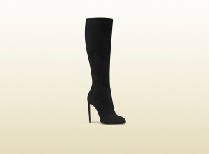 Gucci Goldie Suede High Heel Boot, gucci.com