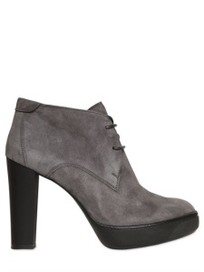 Hogan 110MM Opti Suede Lace Up Boots, luisaviaroma.com