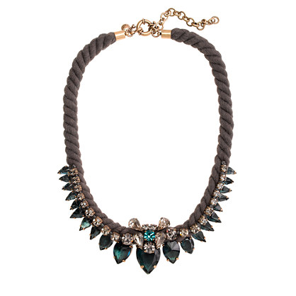 Spiky Rope Necklace, J. Crew
