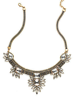 Live In Pink Necklace by Suzanna Dai, anntaylorloft.com
